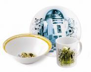 Frühstücksset aus Keramik 3tlg. -Star Wars-
