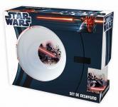 Frühstücksset aus Keramik 3tlg. -Star Wars- Vader