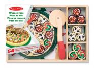 Pizza - Set aus Holz
