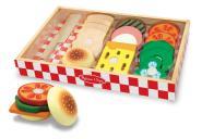 Sandwich - Set aus Holz