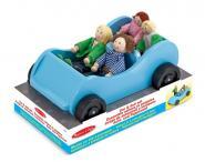 Biegepuppen im Auto von Melissa & Doug