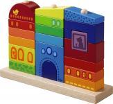 Steckspiel Regenbogenhaus