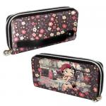 """Portemonnaie Betty Boop """"Cafe"""" Double"""