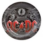 Pappteller ACDC Black Ice