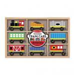 Eisenbahnwagen aus Holz