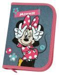 Schüleretui Minnie Mouse gefüllt