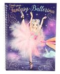 Create your Fantasy Ballerina Malbuch