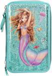 Fantasy Model Etui 3-fach, gefüllt Mermaid grün