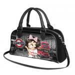 """Handtasche Betty Boop """"London"""" Biscuit"""