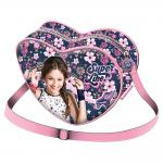 "Tasche Soy Luna Heart Bag  ""Superlike"""