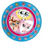 Pappteller Littlest Pet Shop
