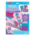 Schaumstoffarmbänder Glitter