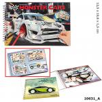 Monster Cars Pocket Malbuch