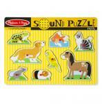 Sound Puzzle Haustiere