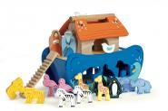 Noahs Sortierbox aus Holz