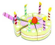 """Kuchen aus Holz """"Vanilla Birthday Cake"""""""