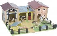 Farm aus Holz
