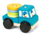 Steckfahrzeug LKW aus Holz von Le Toy Van