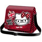 """Umhängetasche Flap Shoulder """"Hello Kitty"""" Punk Chic"""