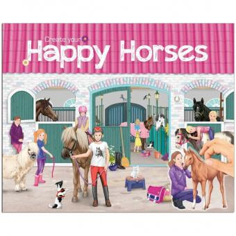 Create your Happy Horses Stickerbuch
