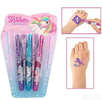 Ylvi & the Minimoomies Tattoo Glitzer Gelstifte