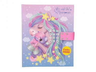 Ylvi & the Minimoomies Tagebuch mit Code, LED und Sound