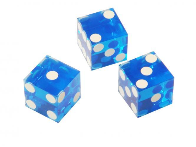spielzeug mehr casino w rfel standard 19 3 mm blau. Black Bedroom Furniture Sets. Home Design Ideas