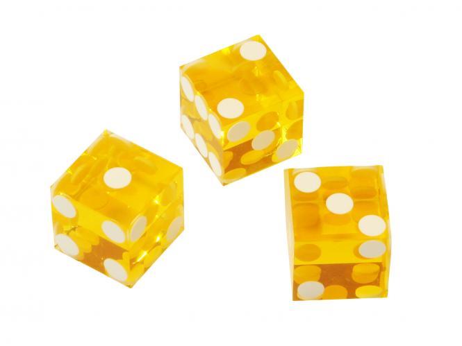 spielzeug mehr casino w rfel standard 19 3 mm bernstein. Black Bedroom Furniture Sets. Home Design Ideas