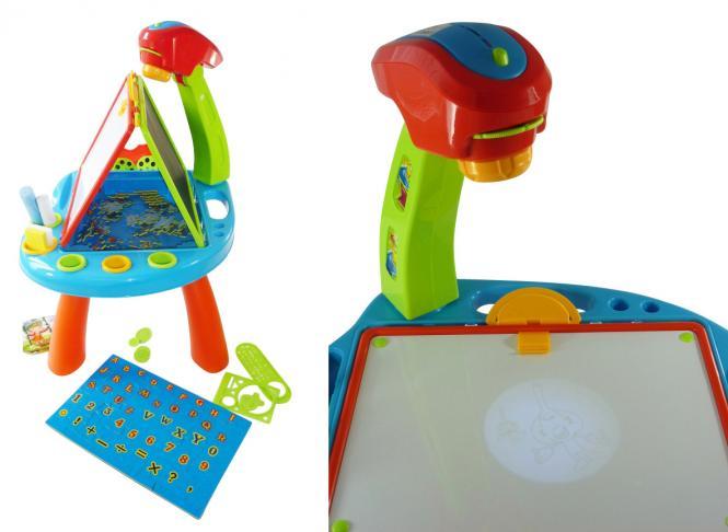Kindermaltisch Projektor
