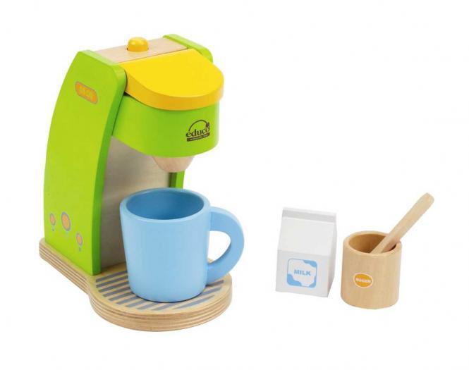 spielzeug mehr kaffeemaschine rise 39 n shine aus holz. Black Bedroom Furniture Sets. Home Design Ideas