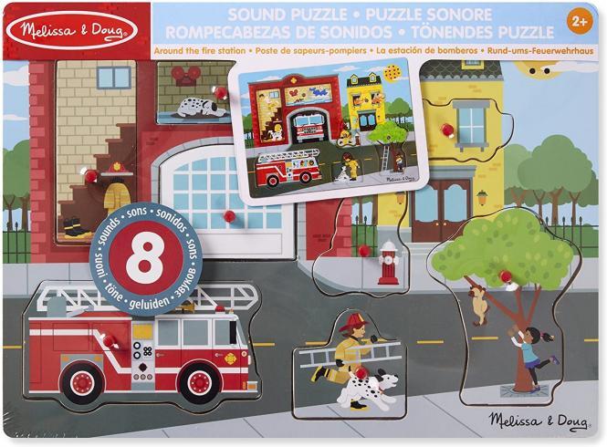 Sound Puzzle Rund ums Feuerwehrhaus