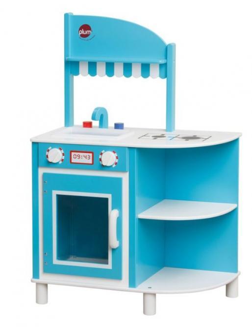 spielzeug mehr spielk che blue aus holz. Black Bedroom Furniture Sets. Home Design Ideas
