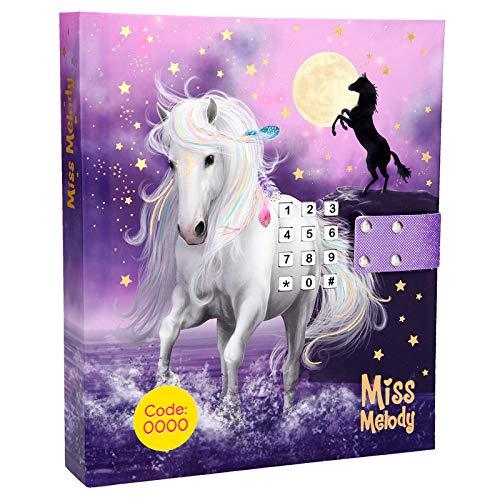 Miss Melody Tagebuch mit Code und Sound