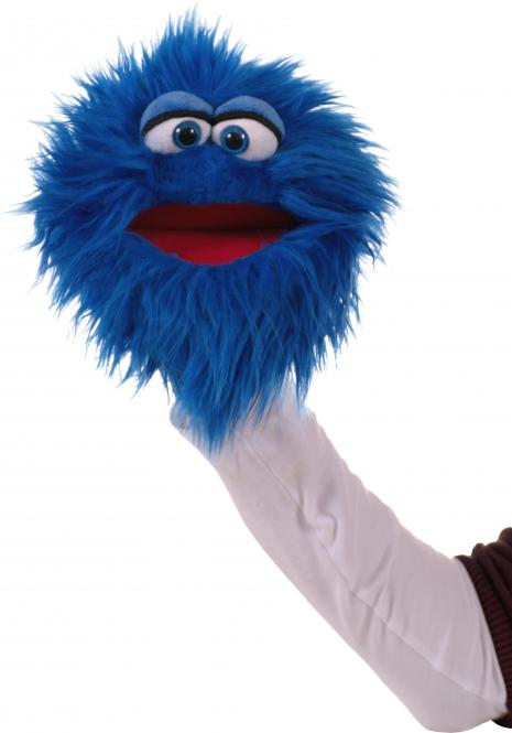Living Puppets Quackelfritze, blau W806