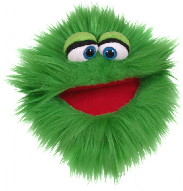 Living Puppets Plappermaul, grün W807