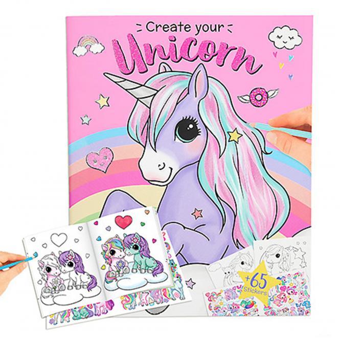 Ylvi & the Minimoomis Malbuch Create your Unicorn
