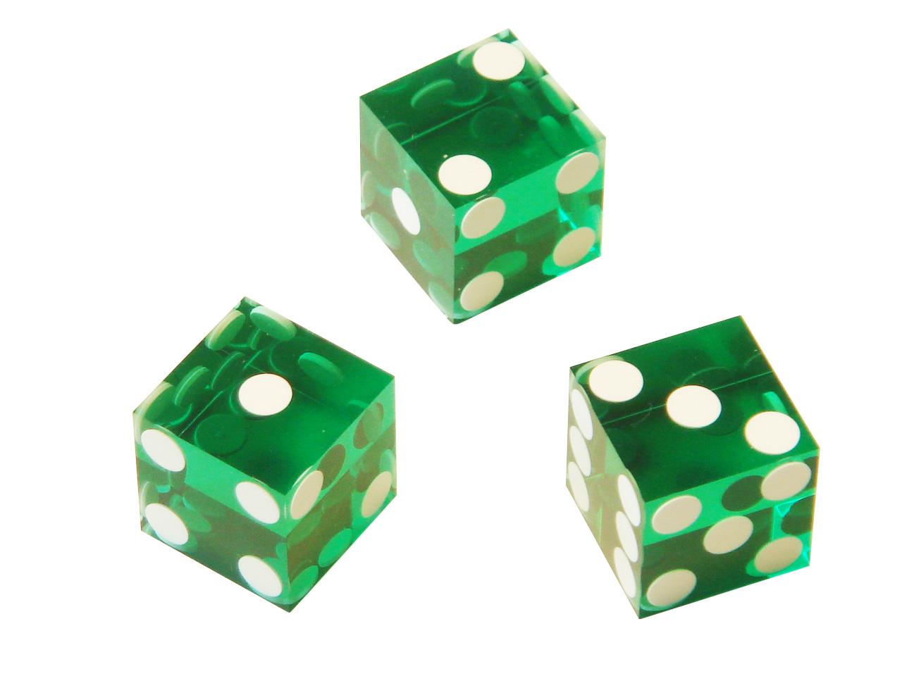 spielzeug mehr casino w rfel standard 19 3 mm gr n. Black Bedroom Furniture Sets. Home Design Ideas