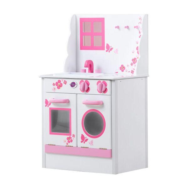 spielzeug mehr spielk che pink aus holz. Black Bedroom Furniture Sets. Home Design Ideas