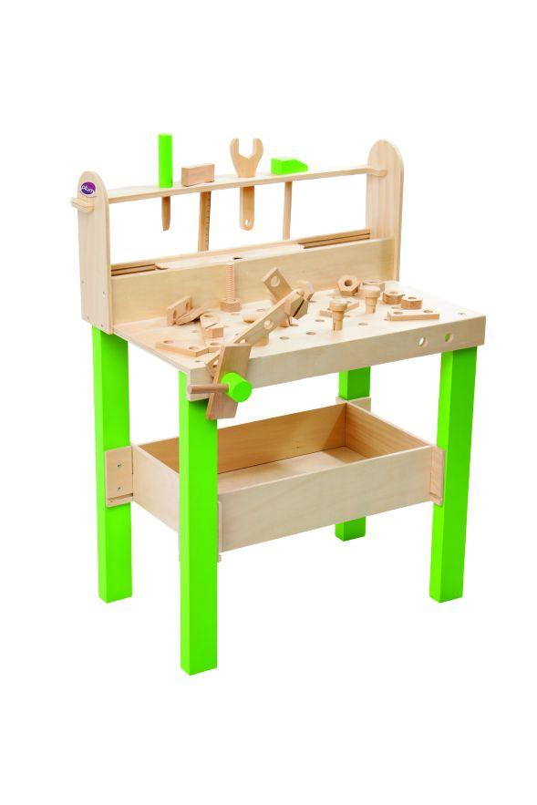 spielzeug mehr werkbank lumberjack aus holz. Black Bedroom Furniture Sets. Home Design Ideas