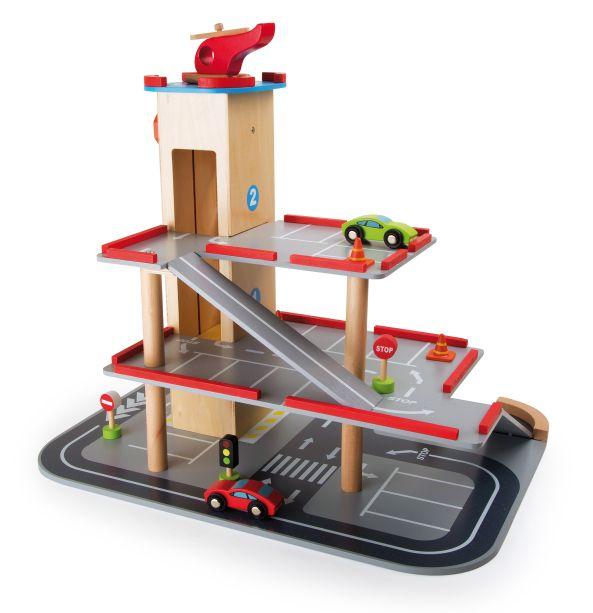 Spielzeug mehr parkhaus quot holzrampen aus holz