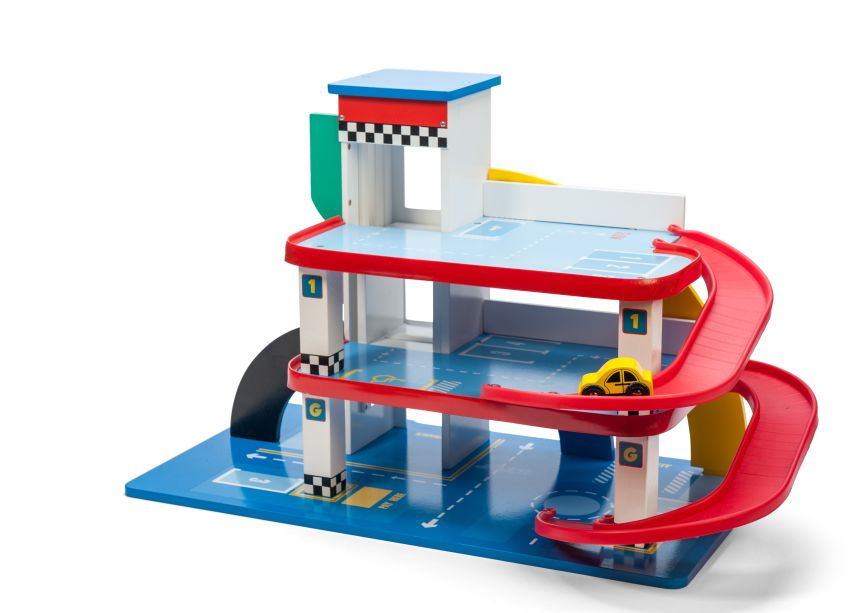 Spielzeug mehr parkhaus quot vintage garage aus holz