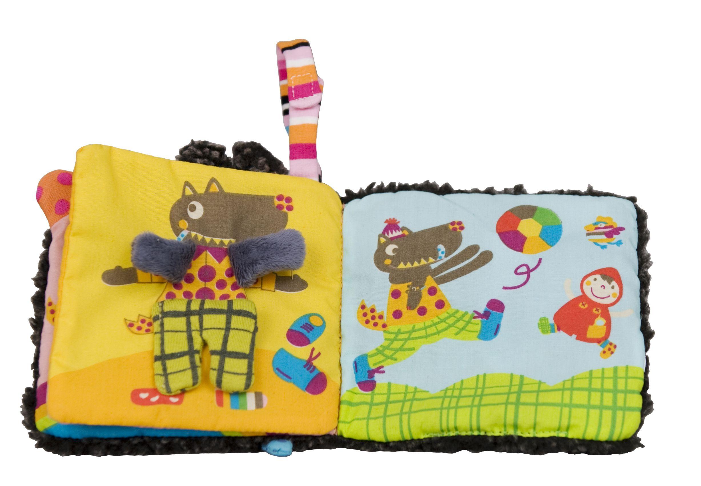 spielzeug mehr minibuch louloup zieht sich an von ebulobo. Black Bedroom Furniture Sets. Home Design Ideas